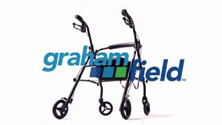 How to assemble your RJ5500 Steel Knockdown Rollator Youtube Video Link