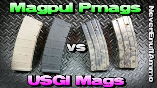 Magpul Pmags vs USGI Magazines