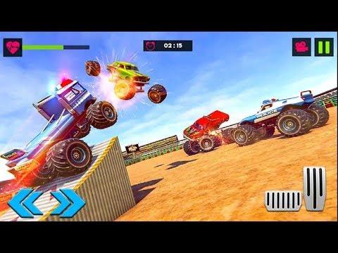 Download Monster Truck Destruction Next Car Game Wreckfest Video 3gp