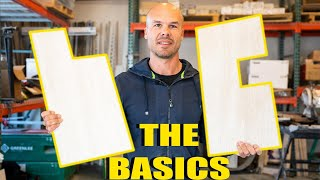 TILE SAW TUTORIAL FOR BEGINNERS - 3 CUTS YOU NEED TO KNOW