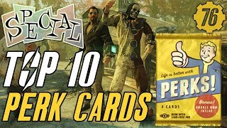 Fallout 76 TOP 10 PERK CARDS!: Guide! #Fallout76