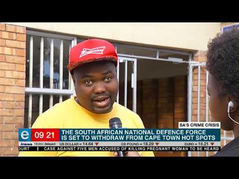 SANDF to leave CT's crime spots | Nyanga