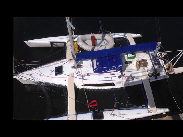 Trimaran sailing at its very best