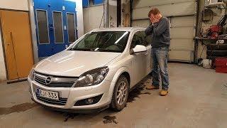 Opel Astra H   4е ТО для меня обернулось проблемкой!!!