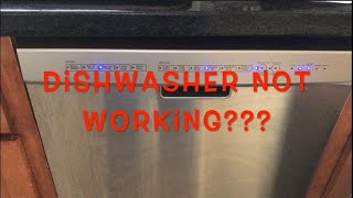 Kenmore Dishwasher - Cycle not starting fix