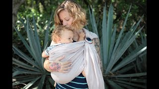 Ring Sling Tutorial - Everything You Need To Know About Using A Ring Sling Baby Carrier