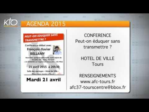 Agenda du 17 avril 2015
