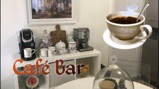 DECORANDO CON IDEAS CREATIVAS UN CAFE BAR/DECORACION INTERIOR Diseño Decorar Home Decor