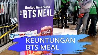 Hampir Semua Cabang McD Membludak saat Rilis Menu BTS Meal, BTS Diprediksi Dapat Keuntungan Rp128 M