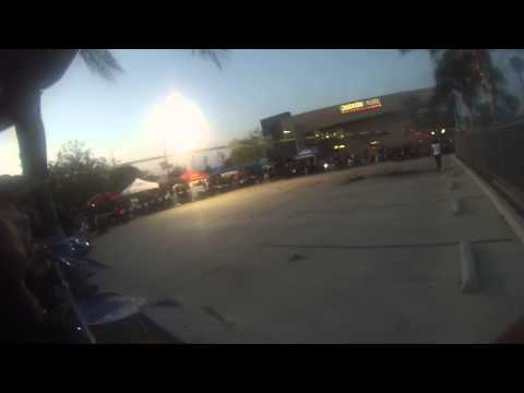 Burn out contest at Malcom motorsport of riverside