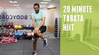 20 Minute Tabata-style HIIT Workout | The Body Coach by The Body Coach TV