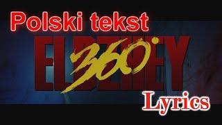 Allj   360 PL Элджей 360.Polski TEKST Fonetyczny, Lyrics Karaoke.