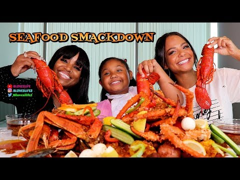 Seafood Boil with Christina Milian and her daughter Violet