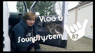 Vito Camper - Soundsystem   Eton Pow 160.2   Tür dämmen