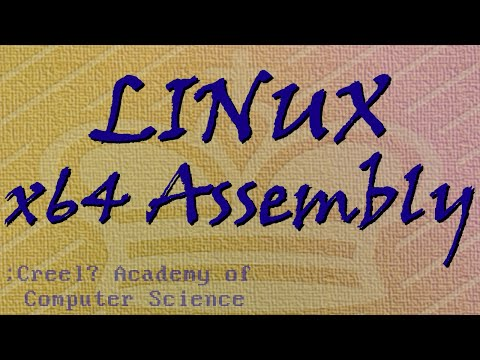 Linux x64 Assembly Tutorial 2: Intro to ASM and AT&T Syntax