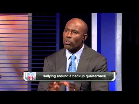 Davis describes the drop-off from John Elway to Bubby Brister
