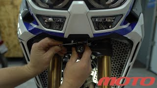 INNOVV K2 Installed on Honda Africa Twin