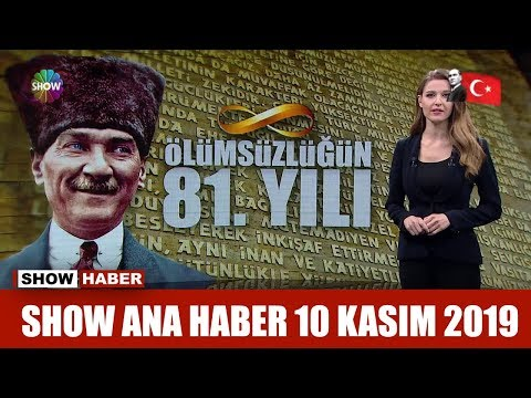 Show Ana Haber 10 Kasım 2019