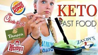 🍔 KETO FAST FOOD | 5 HEALTHY FAST FOOD OPTIONS!