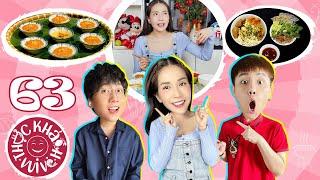Thực Khách Vui Vẻ #63: Người con xứ Huế Phát La, Khả Như dẫn Duy Khánh đi tour ẩm thực miền Trung