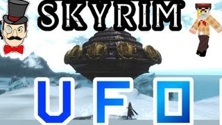 Skyrim Mods - UFO ! Alien Flying Saucer Mod !