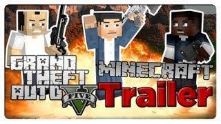 Minecraft GTA 5 Trailer