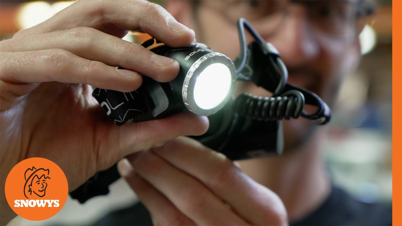Solidline SH6R Rechargeable Headlamp