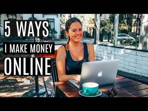 5 WAYS I MAKE MONEY ONLINE & HOW I PLAN TO INCREASE MY INCOME