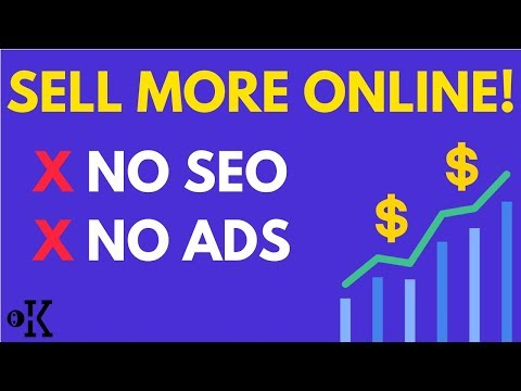 How to Increase Online Sales & Traffic Fast - eCommerce Marketing Strategy (2018)