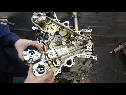 Разбор двигателя 4GR-FSE