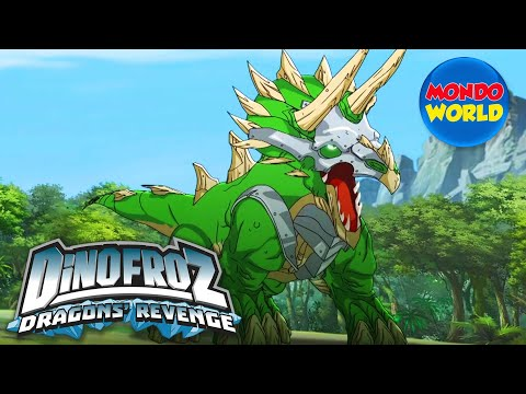 DINOFROZ 2 episode 16 | ACQUISITION: TRICERATOPS | Dinosaur cartoon for kids