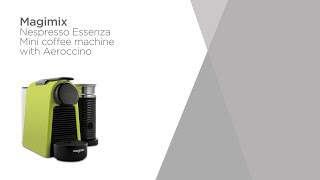 Nespresso by Magimix Coffee Machine with Aeroccino - Lime Green | Product Overview | Currys PC World