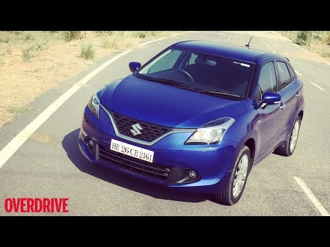 Maruti Suzuki Baleno - First Drive Review (India)