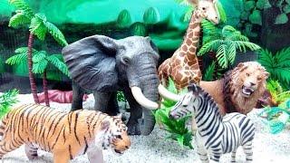 ZVUCI ZIVOTINJA - Domace i Divlje zivotinje Igracke za decu   !! The Animal Sounds Song