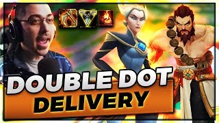 DOUBLE DOT DELIVERY TO THE DOME | UDYR TOP VS CAMILLE - Trick2G