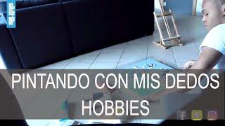 PINTANDO CON MIS DEDOS - UNO DE MIS HOBBIES (TIMELAPSE) - Video Youtube