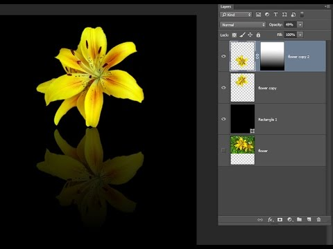 Photoshop tutorial – Creating a stunning reflection effect