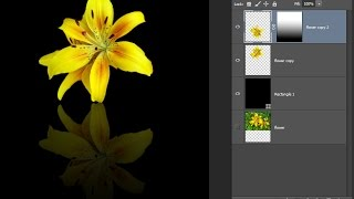 Photoshop tutorial - Creating a stunning reflection effect