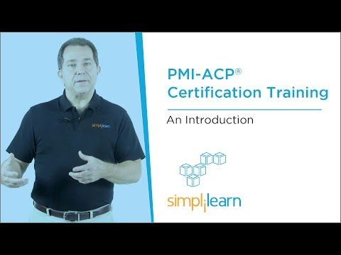Introduction To PMI-ACP® (Agile Certified Practitioner) Training ...