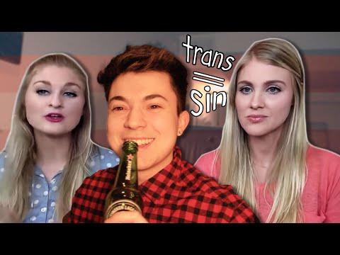 Transguy Reacts to Transphobic Church Girls