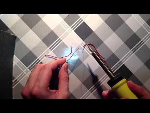 Tutorial: Löten von Kabeln - Metalle verbinden