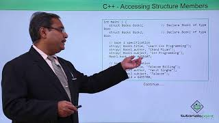 C++ - Accessing Structure Members