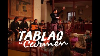 Tablao de Carmen Flamenco show in Barcelona