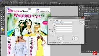 PSD To HTML | Email  Slice PSD To Html In Photoshop | Easy
