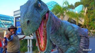 [4K] Blue Raptor Encounter - Meeting Blue Velociraptor from Jurassic World