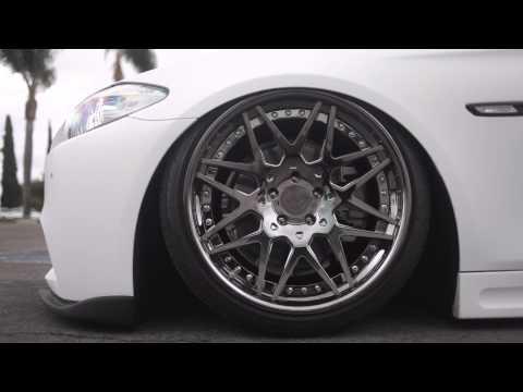 "2012 BMW 5-Series on 20"" VCS13 | VIP Modular Wheels"