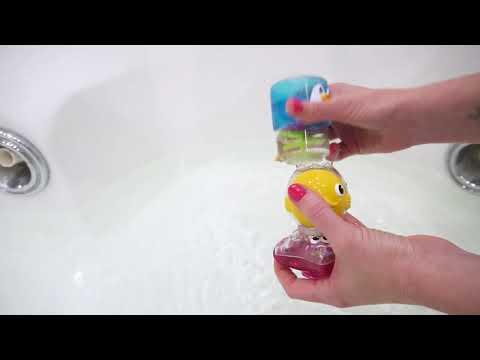 Munchkin игрушки для ванны Пирамидка Waterway™ 3 в 1 6+