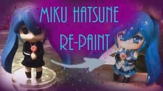 BOOTLEG ANIME FIGURE RE-PAINT | Miku Hatsune