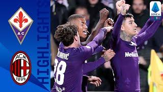 Fiorentina 1-1 Milan | Pulgar's Late Goal Gives Fiorentina a Comeback | Serie A TIM