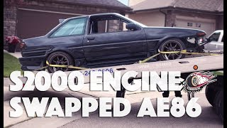 AE86 Complete Build with S2000 Engine!